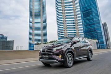 Toyota Rush và những công nghệ nổi trội trong phân khúc 'xelai'