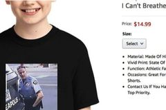 Amazon removes T-shirt showing George Floyd death
