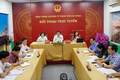 Hải Phòng: Đối thoại trực tuyến về các chính sách BHXH