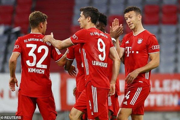 Lewandowski đưa Bayern vào chung kết cúp quốc gia Đức