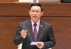 Quốc hội phê chuẩn miễn nhiệm chức Phó Thủ tướng với ông Vương Đình Huệ