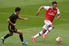 Arsenal thua sốc đội hạng nhất trong trận giao hữu