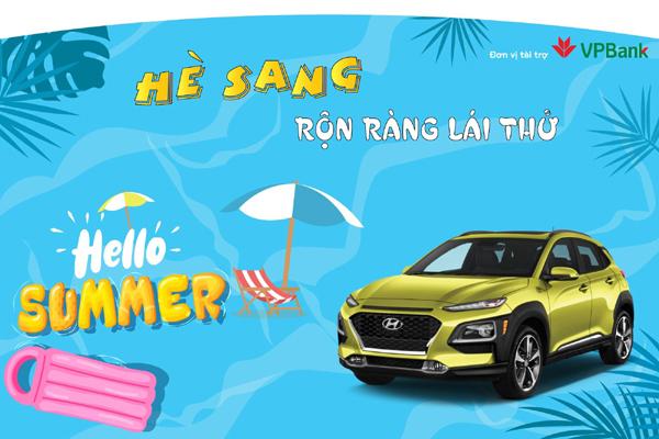 Cơ hội lái thử những dòng xe Hyundai 'hot' trên thị trường