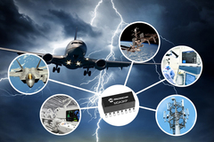 Microchip công bố dòng sản phẩm mảng đi-ốt dập xung quá áp 3kW
