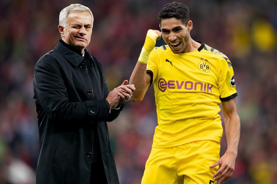 Jose Mourinho tranh Achraf Hakimi với Chelsea
