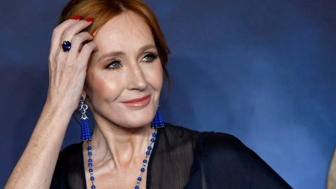 JK Rowling responds to trans tweets criticism
