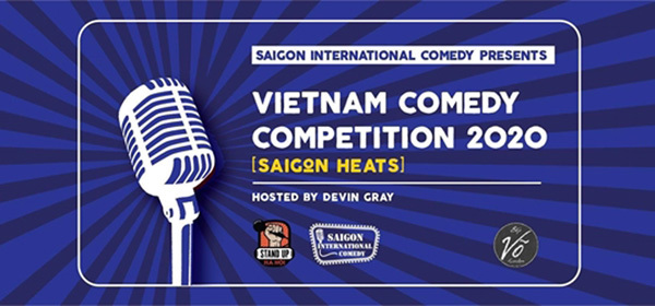 Saigon Int'l Comedy hosts contest for local, expat comedians