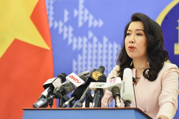 Việt Nam phản ứng về thông tin Trung Quốc đặt cáp ngầm ở Hoàng Sa