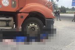 Hai học sinh lớp 10 bị xe container cán tử vong ở Bắc Giang
