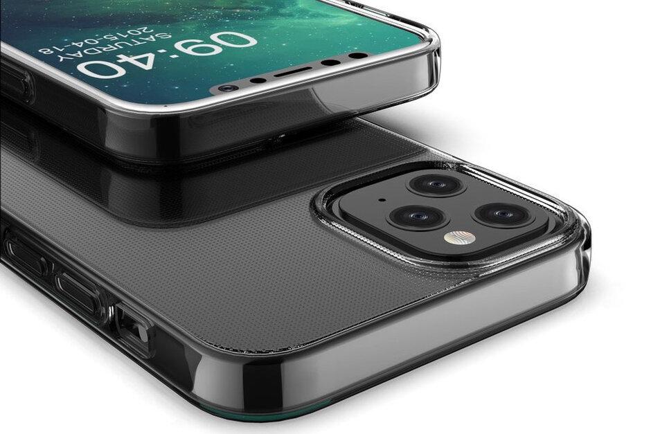 Hình ảnh iPhone 12 Pro Max rò rỉ tiết lộ về thiết kế và 'tai thỏ'
