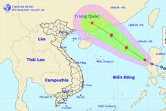 Áp thấp nhiệt đới vào Biển Đông, khả năng thành bão giật cấp 11