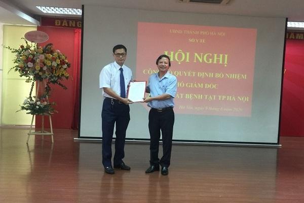 CDC Hà Nội có lãnh đạo mới sau khi ông Nguyễn Nhật Cảm bị khởi tố