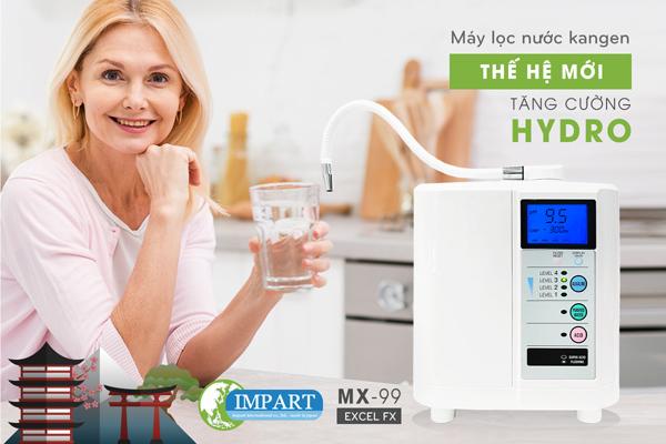Thế Giới Điện Giải phân phối máy lọc nước kangen Impart