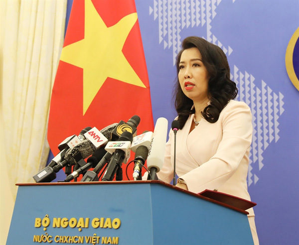 Vietnam opposes China's illegal activities in East Sea