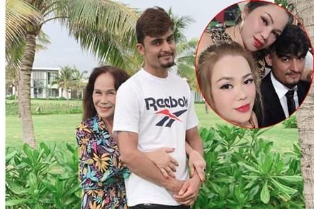 Cô dâu Việt 65 tuổi ở Đồng Nai khoe ảnh con gái thân thiết với 'cha dượng' 28 tuổi