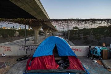 Man charged with poisoning homeless people in California