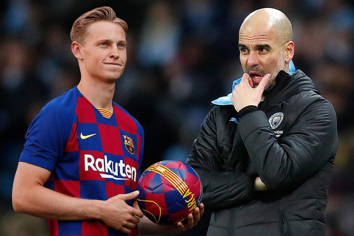 Pep kéo sao Barca về Man City với giá kỷ lục