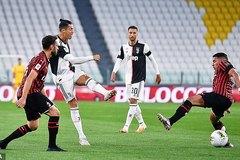 Ronaldo đá hỏng 11m, Juventus nhọc nhằn vào chung kết
