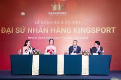 Hoa hậu Đỗ Mỹ Linh tiếp tục làm đại sứ nhãn hàng Kingsport