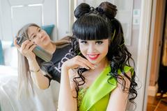 Siêu mẫu Jessica Minh Anh nổi bật với tạo hình Na tra