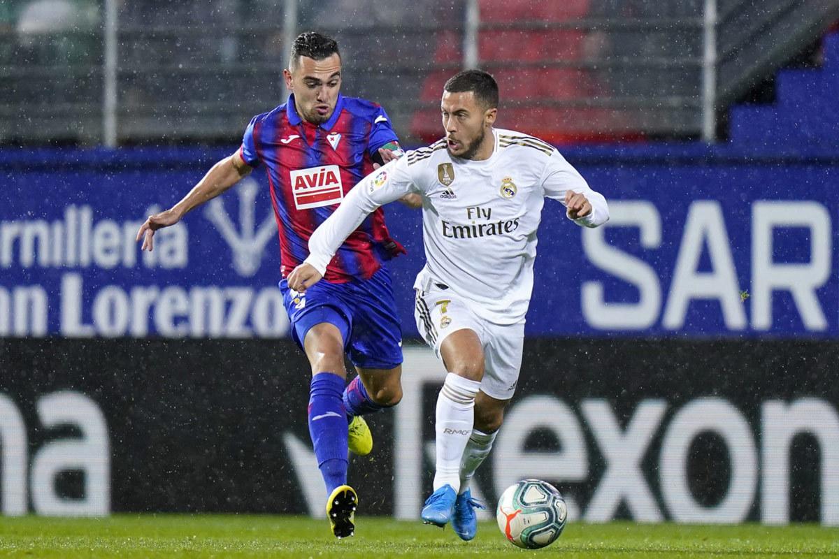 Real Madrid vs Eibar: Sức mạnh chủ nhà