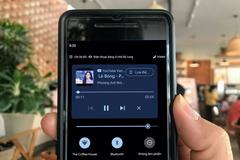 Cách bật trình điều khiển phát nhạc trên trình đơn cài đặt nhanh của Android 11 beta