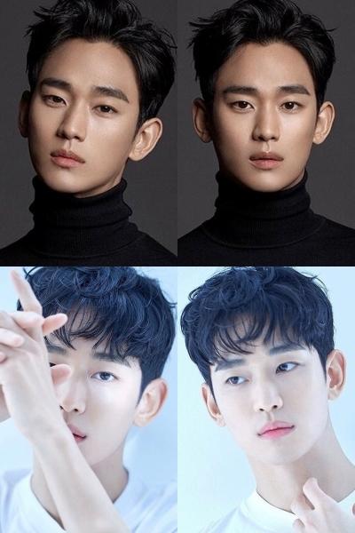 Kim Soo Hyun gây sốt với vẻ đẹp nam tính