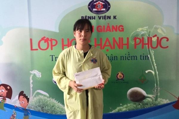 Bạn đọc ủng hộ bé Nguyễn Thành Hoàng Anh ung thư não