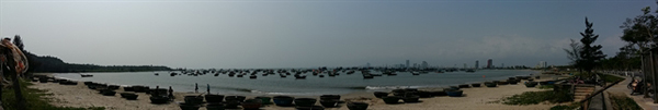 Da Nang,Son Tra Mountains,Tho Quang fishing wharf,fishing community,local fisherman,squid catching day