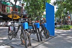 Công viên tiền tỷ với mô hình xe đạp công cộng đầu tiên tại Hà Nội