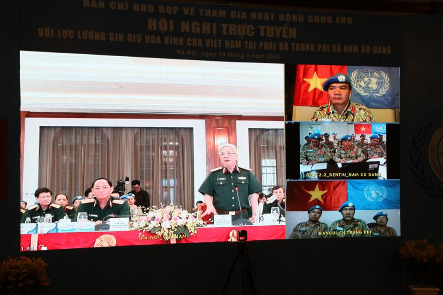 Ưu tiên cao nhất của lực lượng gìn giữ hòa bình Việt Nam giữa dịch Covid-19