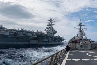 Tàu sân bay Mỹ tuần tra Thái Bình Dương, Trung Quốc tỏ rõ khó chịu