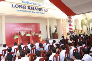 Đồng Tháp: Khánh thành trường chuẩn quốc gia-điểm trường cô giáo Phan Thị Nhế