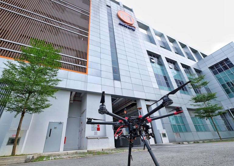 Nhà mạng di động Singapore hợp tác với Airbus để thí điểm 5G cho drone