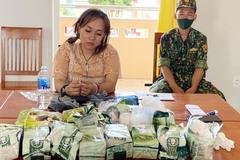 'Nữ quái' cùng đồng bọn mang hơn 30kg ma tuý từ Campuchia về Việt Nam