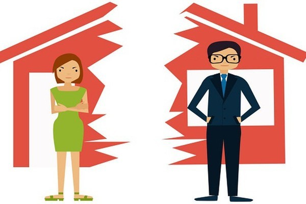 Mơ thấy ly hôn cho thấy bạn đang gặp vấn đề trong cuộc sống