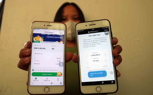 Many Vietnamese trapped by Chinese lending apps