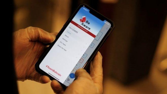 contact-tracing apps,coronavirus,bahrain,kuwait,world news