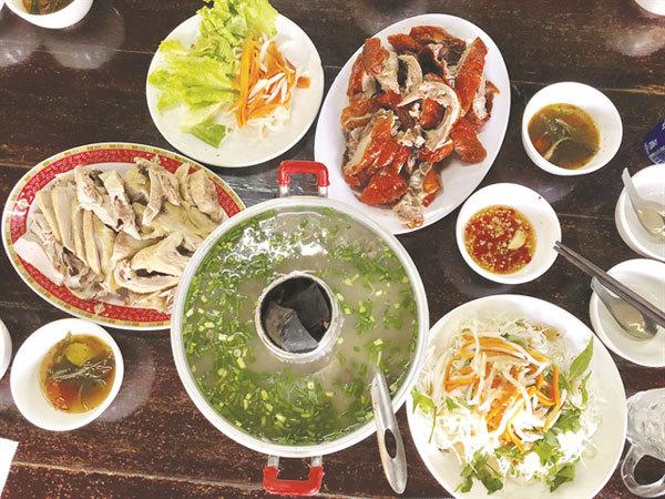 Binh Duong,Thu Dau Mot Town,Vịt Cu Chì Restaurant,organic duck dishes