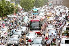 Traffic congestion still a big problem for Hanoi