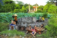 Village well in Vietnamese people's life