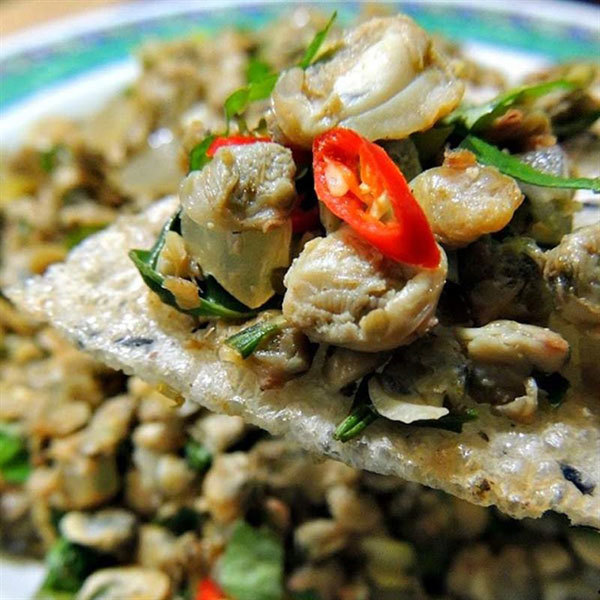 Dishes from clams, a highlight in Vietnam's cuisine