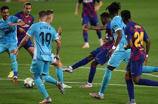 Messi lập công, Barca vững ngôi đầu bảng