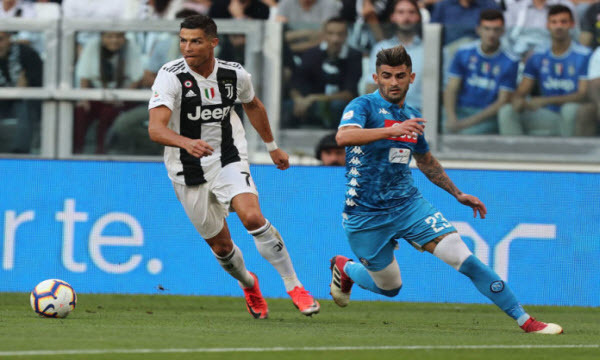 Link xem Juventus vs Napoli, 02h00 ngày 18/6