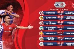 Lịch thi đấu vòng 5 LS V-League