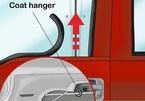 Độc chiêu mở cửa ô tô khi quên chìa khóa bên trong