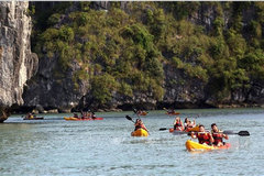 Explore Vietnam's beautiful sites by kayak
