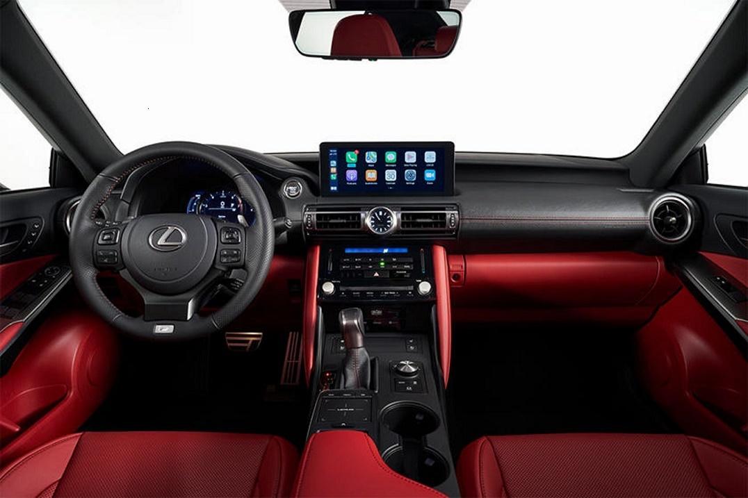 Lexus IS 2021 chính thức lộ diện