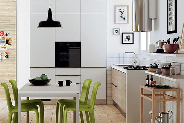 """Học 5 """"bí kíp"""" này, phòng bếp nhỏ cũng hóa rộng thênh thang và nâng tầm sang trọng hơn"""