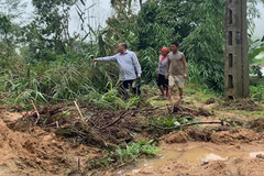 Ha Giang suffers losses worth VND600 million due to heavy rains